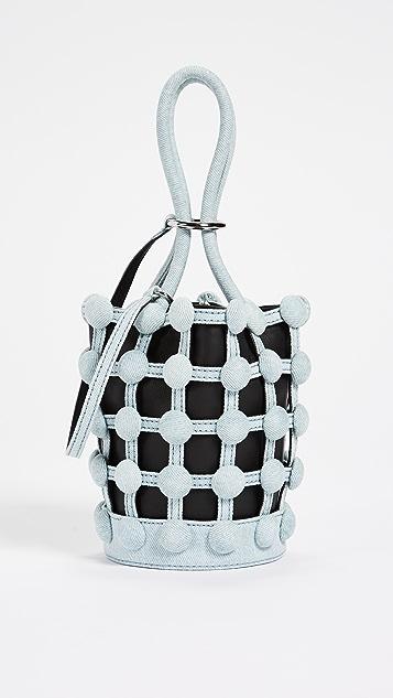 Alexander Wang Roxy Cage Mini Bucket Bag - Bleached