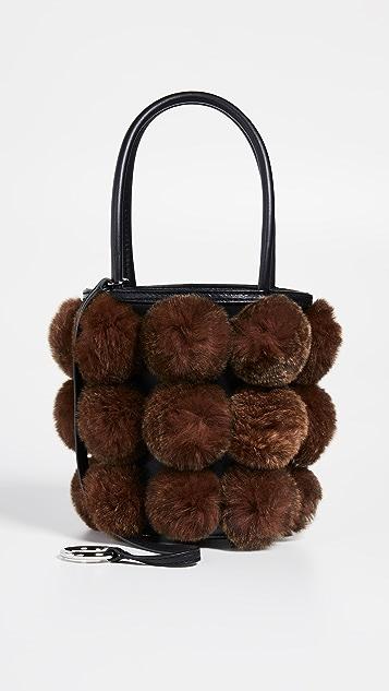 Alexander Wang Roxy Cage Mini Bucket Bag