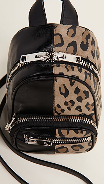 Alexander Wang Attica Soft Mini Backpack Cross Body Bag