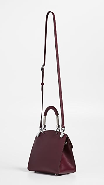 Alexander Wang Dime Mini Flap Satchel