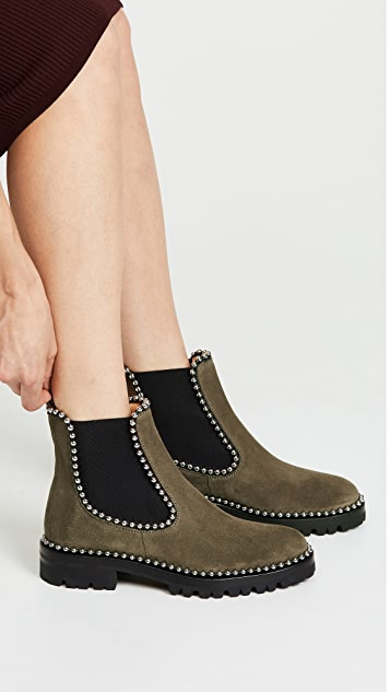Alexander Wang Spencer Ball Chain Chelsea Booties