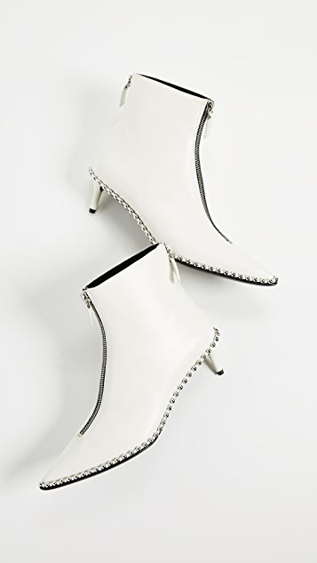 Alexander Wang Eri Low Heel Booties