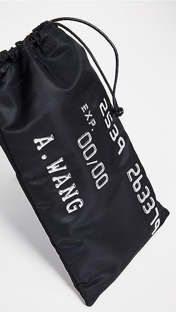 Alexander Wang Ryan Credit Card Dustbag