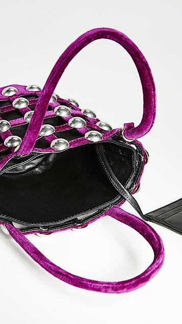 Alexander Wang Сетчатая миниатюрная сумка-ведро Roxy