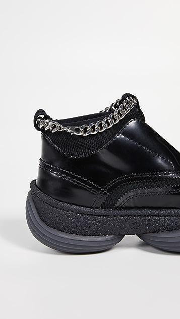 Alexander Wang Кроссовки A1 без шнурков в стиле оксфордов