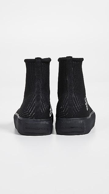 Alexander Wang Трикотажные кроссовки Pia