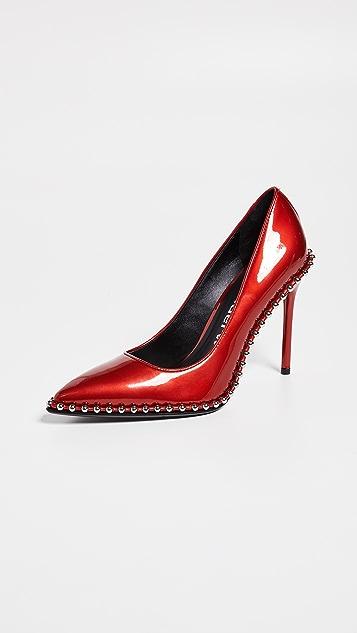 Alexander Wang Rie High Heel Pumps - Red