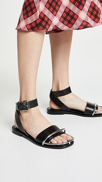 Alexander Wang Sora Halo Flat Sandals