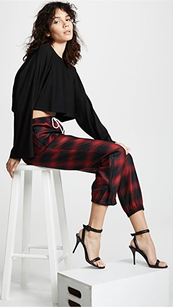 Alexander Wang Track Pants with Elastic Waist