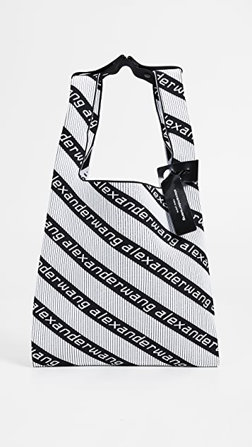 Alexander Wang Knit Jacquard Shopper