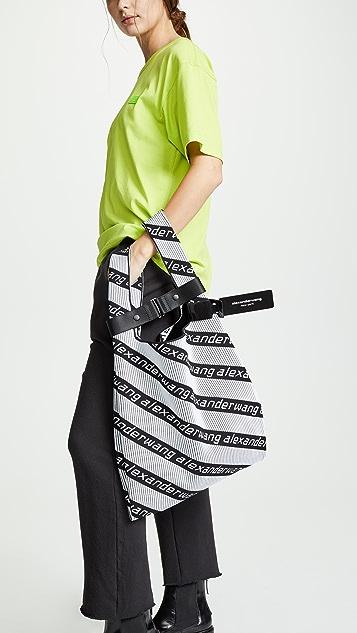 Alexander Wang 针织提花购物手提袋