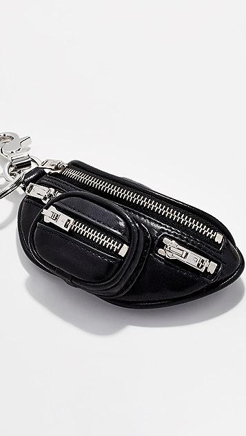 Alexander Wang Attica Fanny Pack Keychain