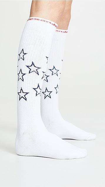 Alexander Wang Star Socks
