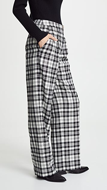 Alexander Wang Classic Single Pleat Pants