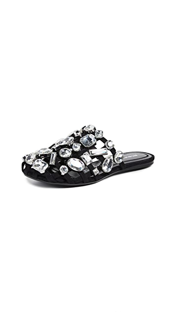 Alexander Wang 水晶 Amelia 穆勒鞋
