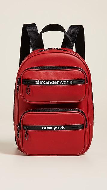 Alexander Wang Attica Soft Medium Backpack - Red