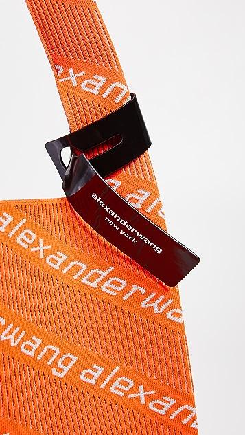 Alexander Wang Knit Jacquard Shopper Tote