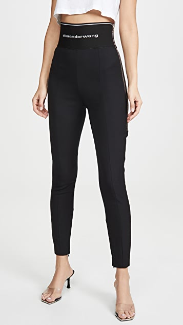 Alexander Wang Stretch Twill Leggings
