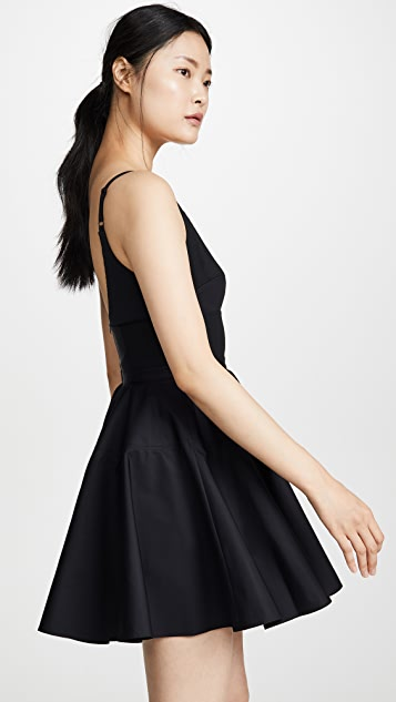 Alexander Wang Poplin Fit and Flare Dress