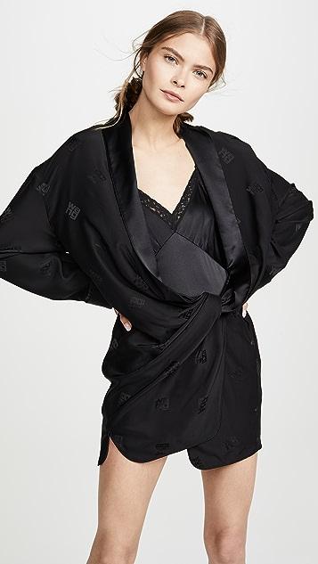 137c41282c41 Alexander Wang Draped Pajama Romper | SHOPBOP