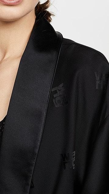 Alexander Wang Draped Pajama Romper