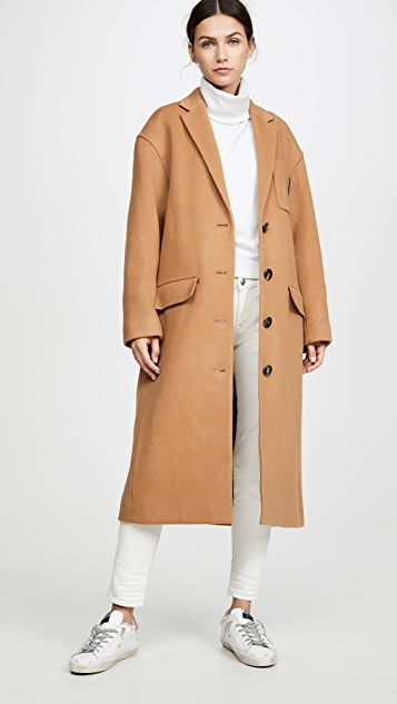 Alexander Wang Drop Shoulder Coat