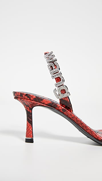 Alexander Wang Ivy Slingback Sandals