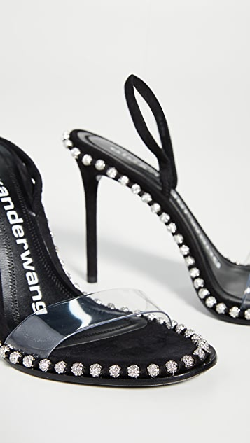 Alexander Wang Nova Crystal High Heel Sandals