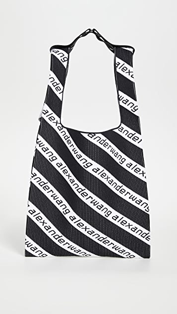 Alexander Wang Knit Large Shopper Tote
