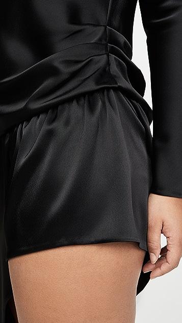 Alexander Wang 裸露双腿高领连衣裙