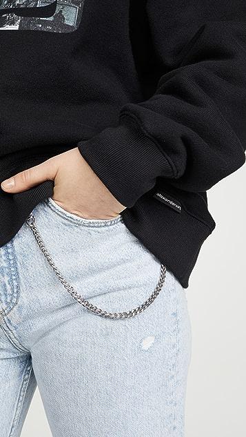 Alexander Wang 厚实毛圈布图案运动衫