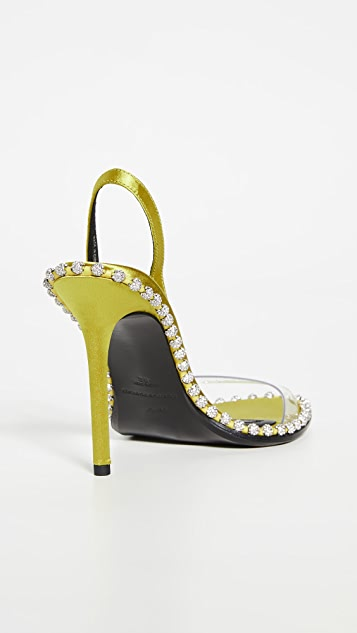 Alexander Wang Nova Crystal Sandals