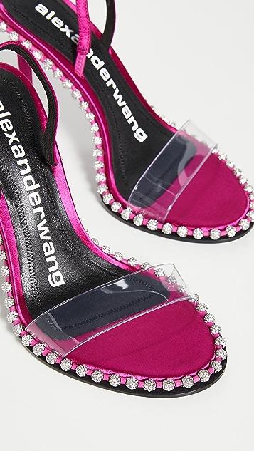 Alexander Wang Nova Crystal Sandals