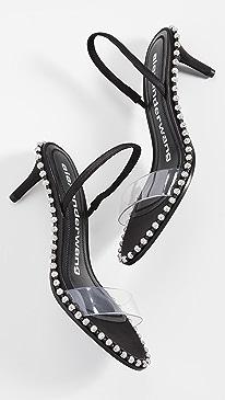 Nova Low Crystal Sandals