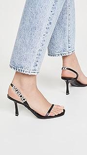 Alexander Wang 85mm Ivy 露跟凉鞋