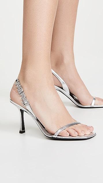 Alexander Wang 85mm Ivy 露跟鞋