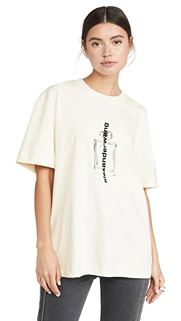 Alexander Wang Short Sleeve T-Shirt with Graphic