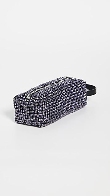 Alexander Wang Rhinestone Pencil Case