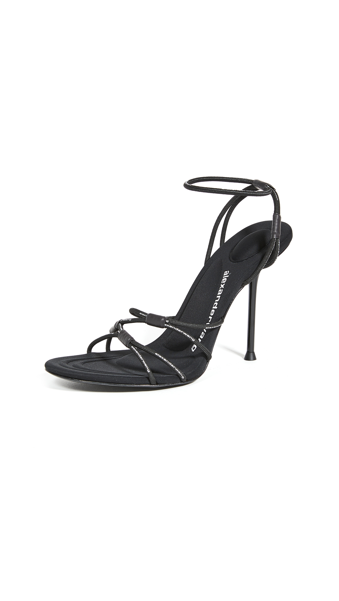 Alexander Wang 100mm Sienna Logo Sandals