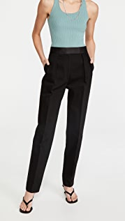 Alexander Wang High Waisted Tuxedo Trousers