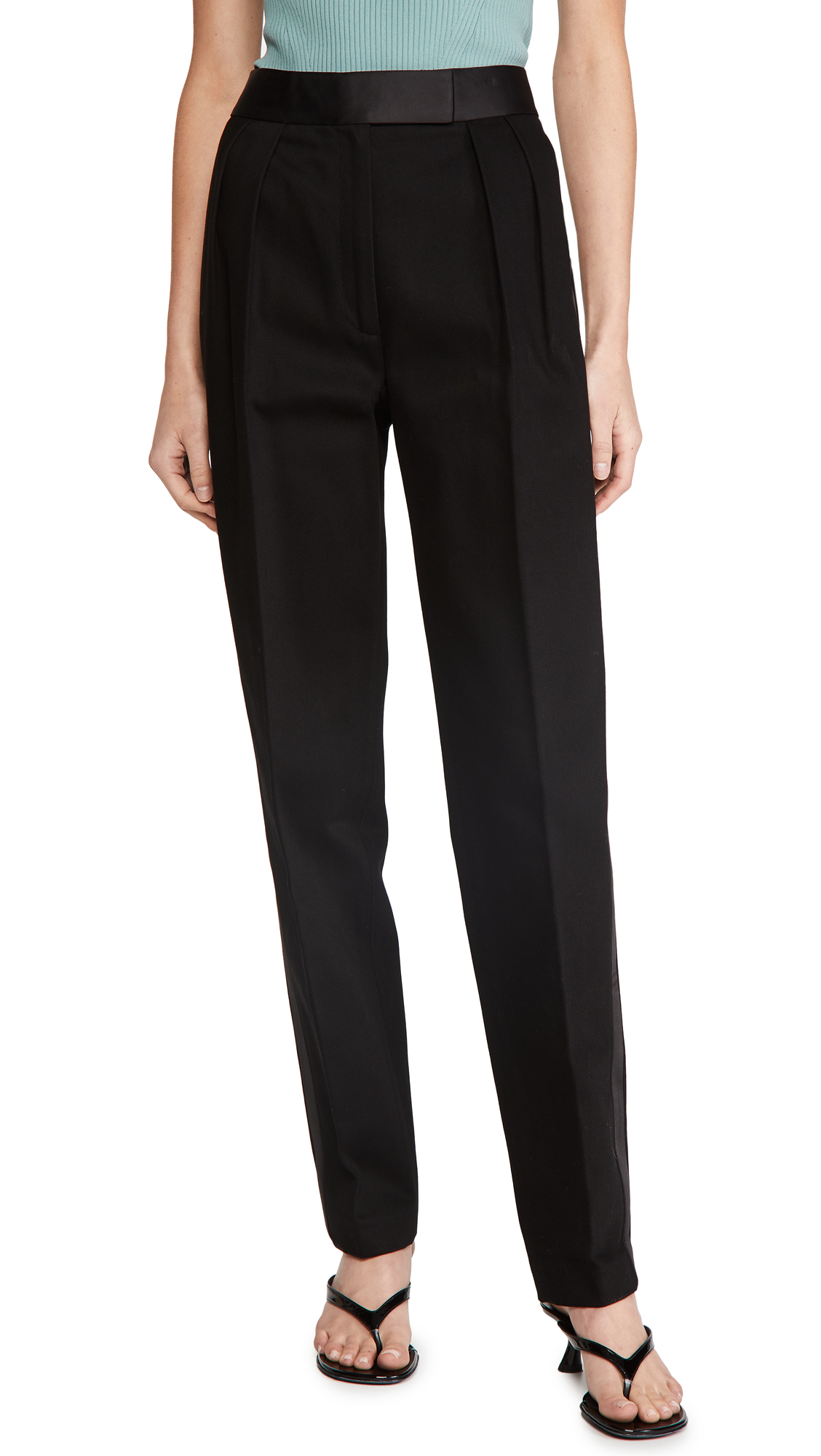 Alexander Wang High Waisted Tuxedo Trousers