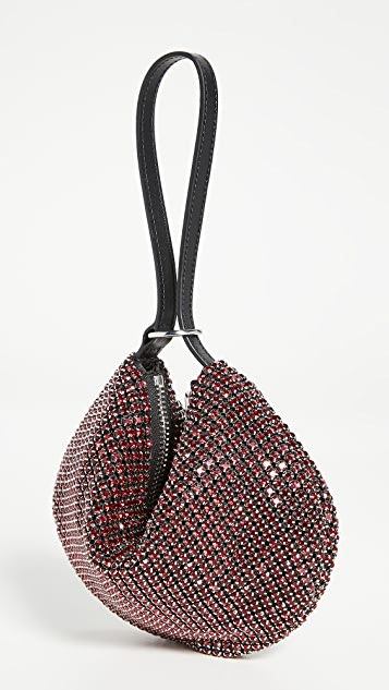 Alexander Wang Fortune Cookie Bag 红色水钻网眼包