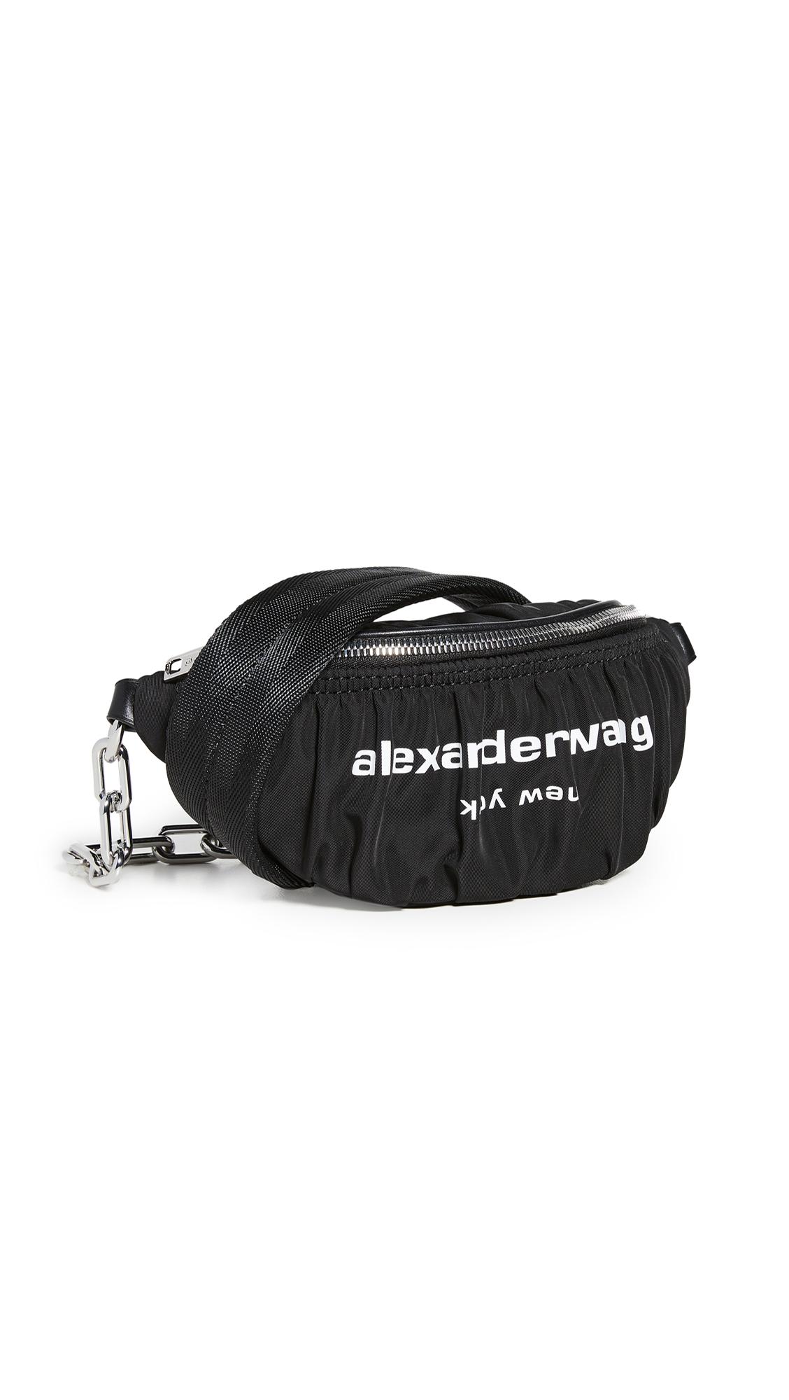 Alexander Wang Attica Soft Ruched Fanny Crossbody Bag