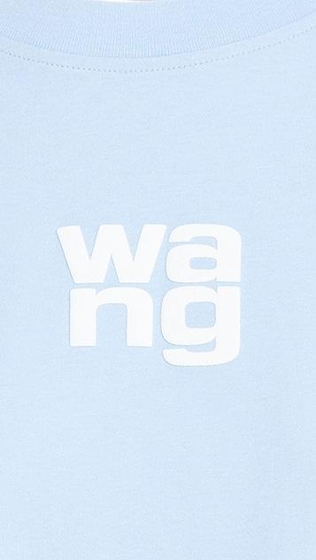 Alexander Wang Wang 发泡印花成衣水洗 T 恤
