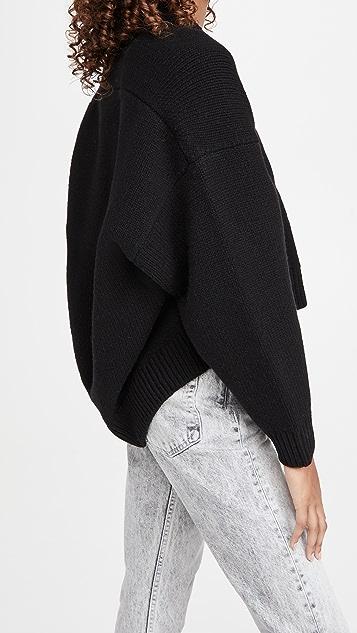 Alexander Wang Drape Back Pullover