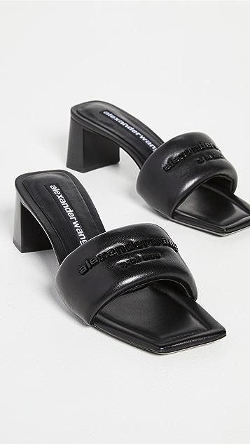 Alexander Wang Anya 皮凉鞋