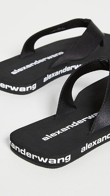 Alexander Wang Aw Flip Flops