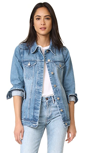 AYR The Double Star Denim Jacket - Moonshine