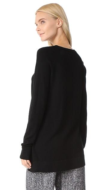 AYR The Twist Seam Tunic Sweater