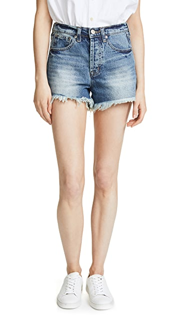 AYR The Cut Off Denim Shorts